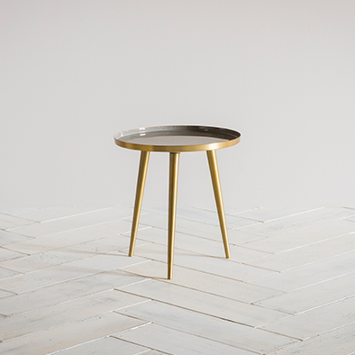 Rochelle Side Table in grey