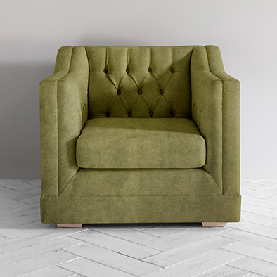 James Armchair in Olive You Too