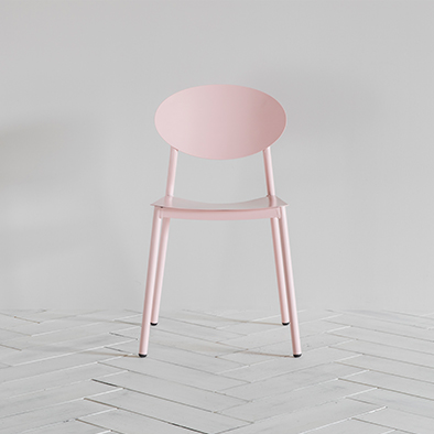Donatella Chair in Pink