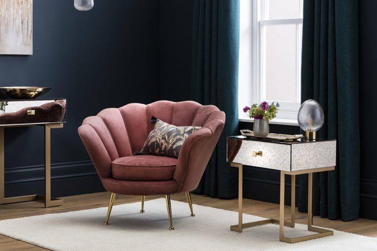 Brooke Velvet Armchair
