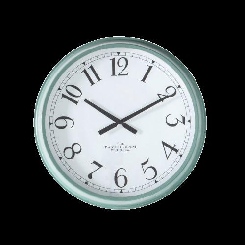 Mina Wall Clock Turquoise