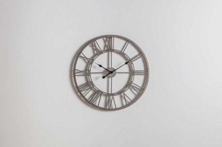 Luke Outdoor Wall Clock