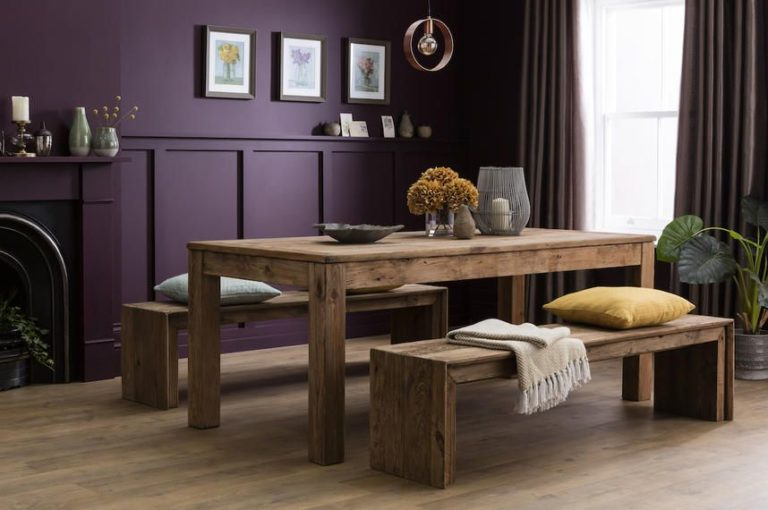 Sauveur Wood Dining Table