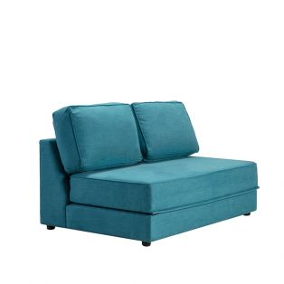 Dacre Two-Seater No Arms Sofa Bed