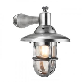Timothy Industrial Wall Lamp in Nickel