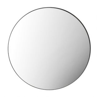Jonet Round Mirror in Black