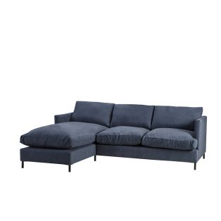 Justin Left Hand Chaise Sofa Bed
