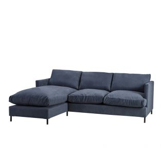 Justin Left Hand Chaise Sofa
