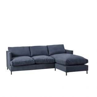 Justin Right Hand Chaise Sofa Bed