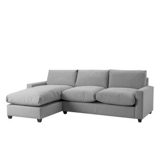 Mimi Left Hand Chaise Ottoman Sofa Bed