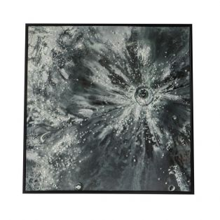 Quasar Textured Wall Art with Crystal Edge
