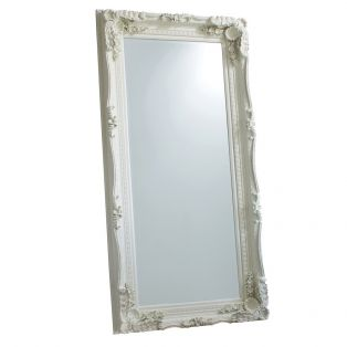 Victoria Standing Mirror in Cream