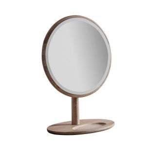 Rebecca Oak Dressing Table Mirror