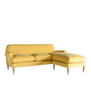 Peter Three-Seater Chaise Sofa