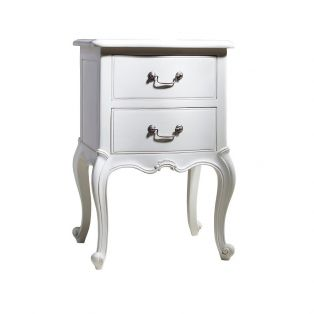 Opera Bedside Table in White