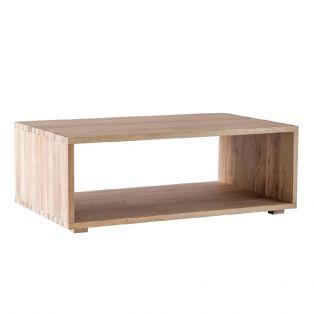 Mocha Natural Oak Coffee Table