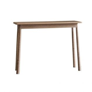 Rebecca Oak Console Table