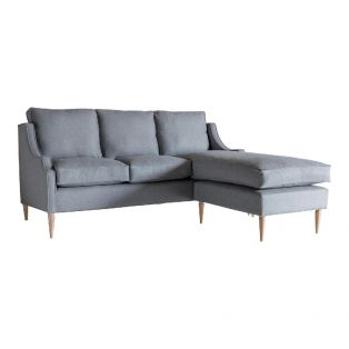 Nicholas Three-Seater Chaise Sofa