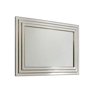Casey Wall Mirror with Warm Bronze Finish