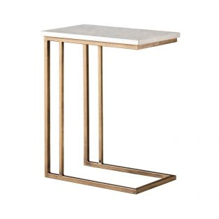 Chloe Marble Supper Table