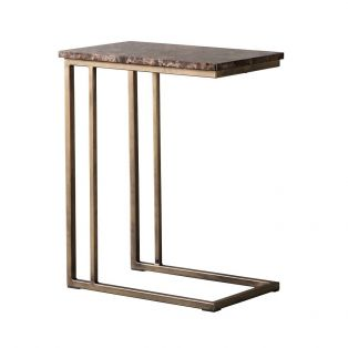 Chloe Emperador Marble Supper Table