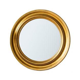 Holden Mirror in Satin Gold