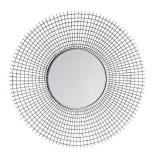Samson Mirror in Silver