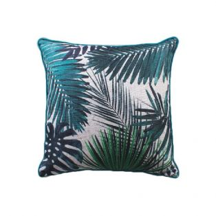Florida Luxe Cushion in Cerulean Blue