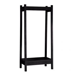 Sadie Clothes Rack in Charcoal