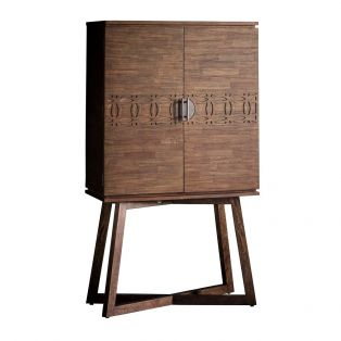 Sadie Drinks Cabinet in Natural