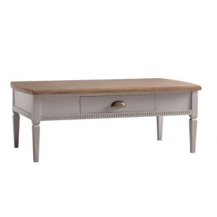 Sienna Coffee Table in Ice Grey