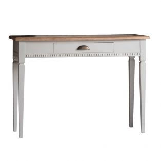 Sienna Console Table in Ice Grey