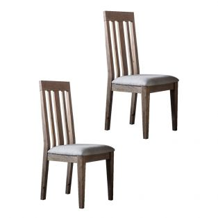 Cooper Oak Dining Chair in Natural, Set of Two