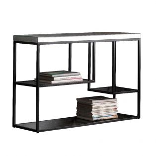Damsay Console Table in Black