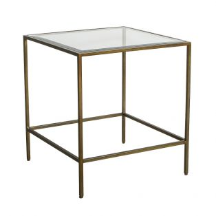 Marshall Side Table in Bronze