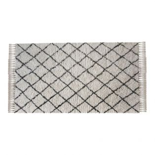 Hampton Large Trellis Wool Rug