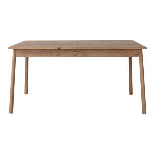 Rebecca Extendable Oak Dining Table