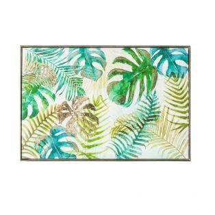 Palm Oasis Framed Print