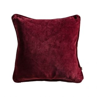 Cameron Cushion in Berry Washed Velvet