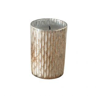 Aurelia Textured glass Candle