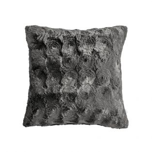 Berg Faux Fur Cushion in Anthracite