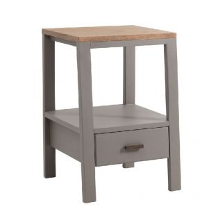 Lee Side Table in Grey, Small