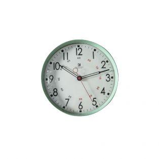 Tate Wall Clock in Mint Green
