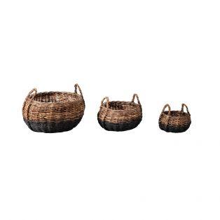 Formentera Rattan Basket Set of Three