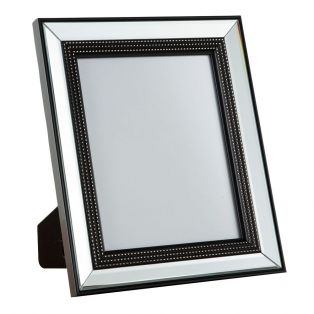 Lucia Beaded 8x10'' Picture Frame in Silver