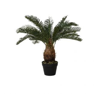 Faux Cycad in Slate Effect Planter