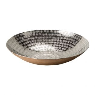 Marlin Hammered Bowl in Silver