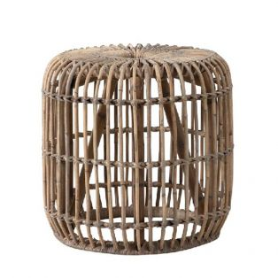 Kira Rattan Side Table, Small