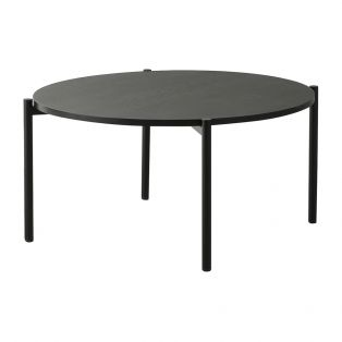 Joss Oak Coffee Table in Black