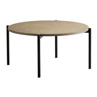 Joss Oak Coffee Table in Grey